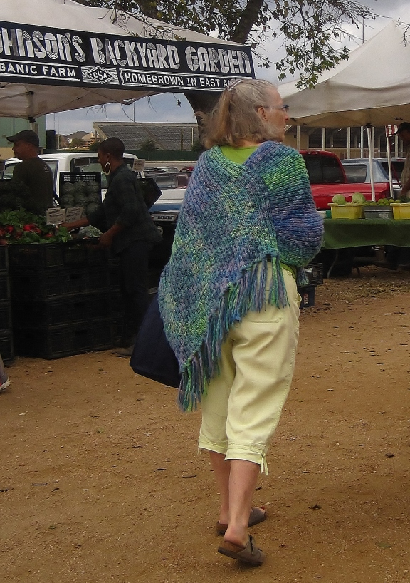 Farmer's Market shopper
