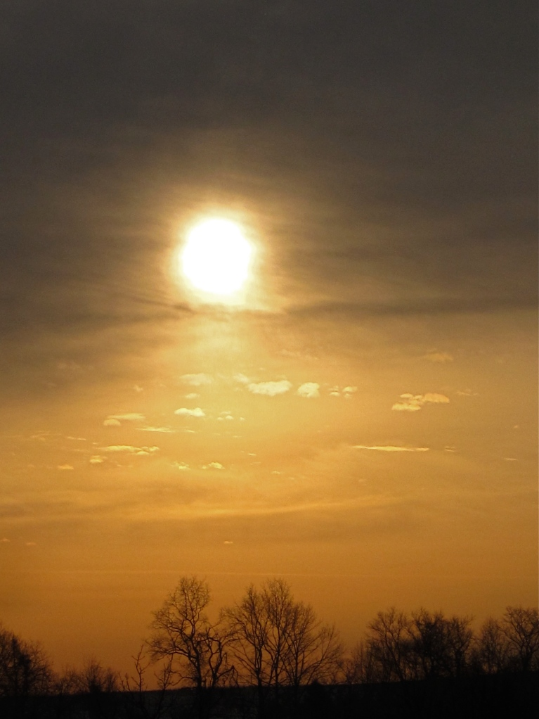 Sunrise January 9, 2013