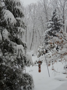 Middle Garden in Winter