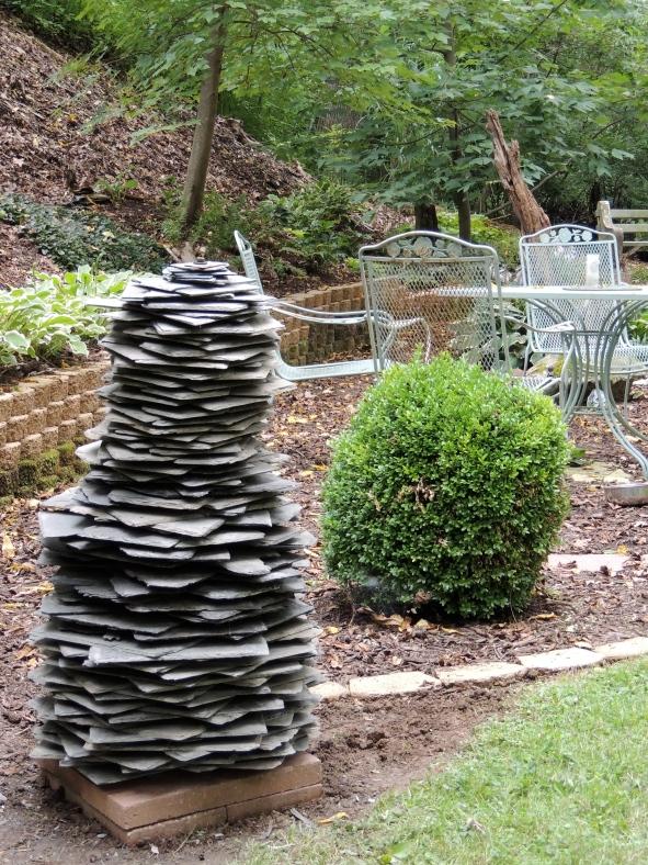 Slate Sculpture 3