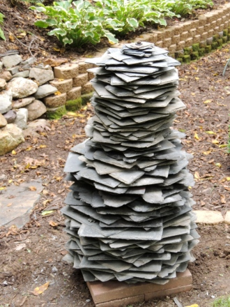 Slate Sculpture 2