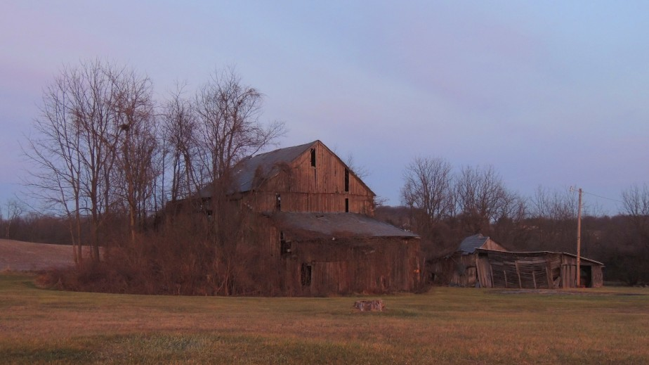 Pennsylvania abandoned barn