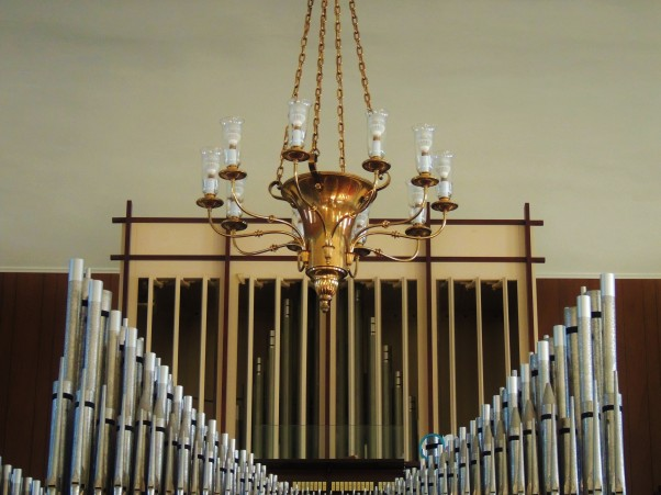Pipe organ at St John's