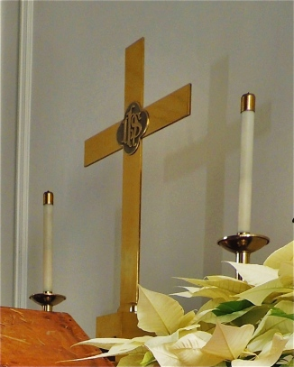 Cross on the Alter