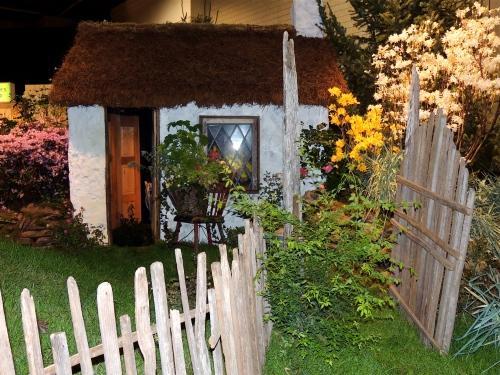 Irish cottage garden presented by the Irish Tourism board