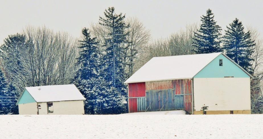 Barn on Meadow Drive East Alen Township Northampton County PA
