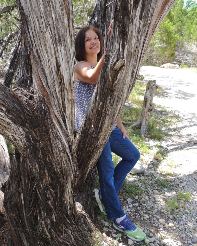 Bonnie michelle at Pedernalas Falls State Park Texas