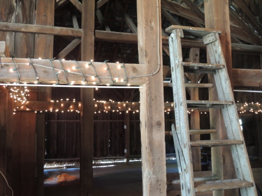 barn repurposing lights and more lights