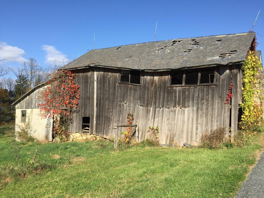 Abandoned barn on Meadow