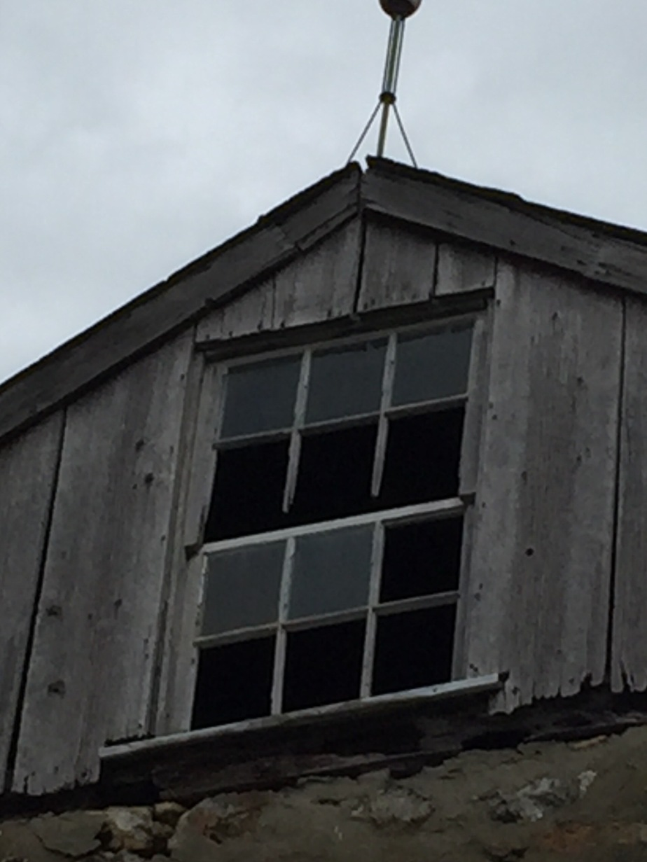Upper window of the barn