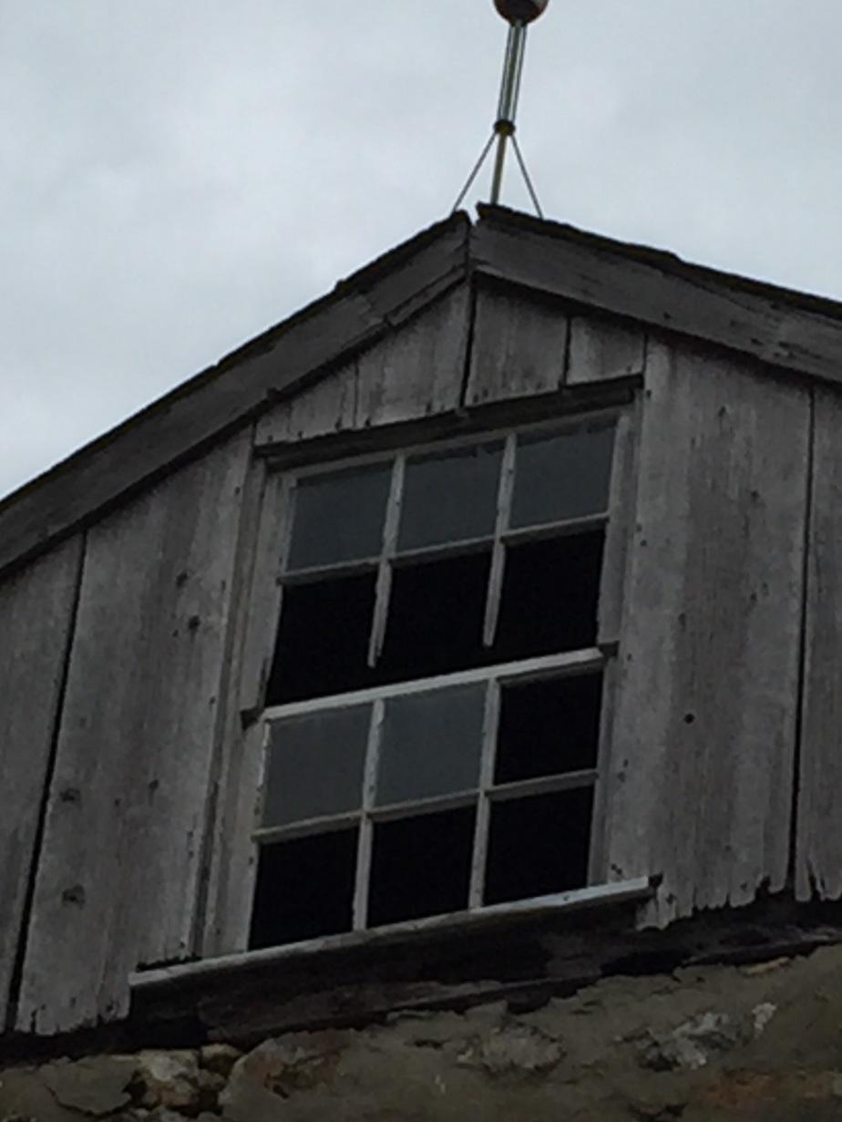 Upper window of the barn