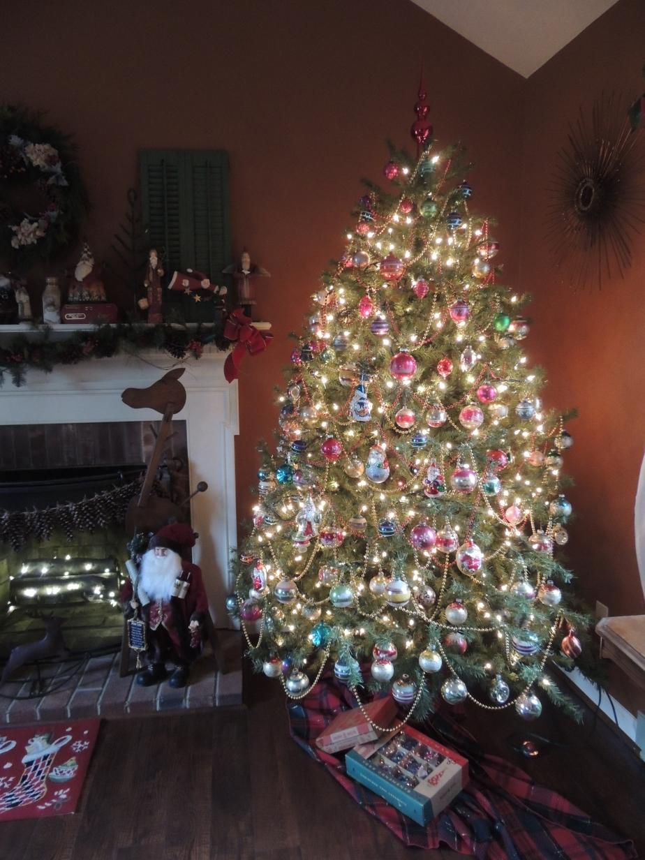 Thriftstore Christmas tree